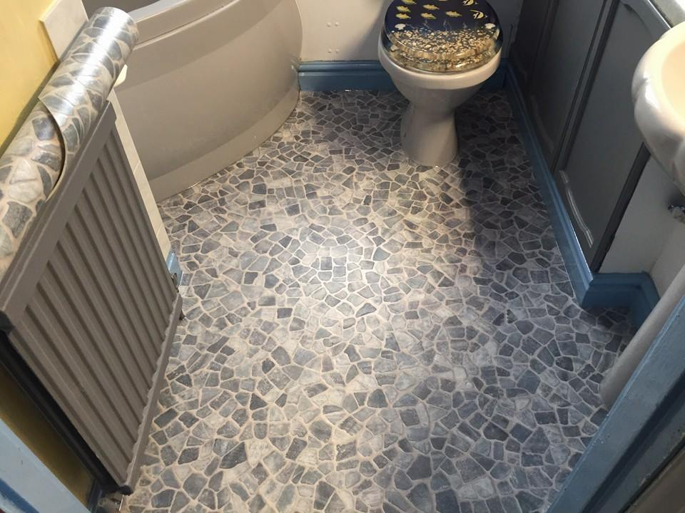 Bathroom floor in Milton Keynes