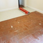 Bare Quarry Tile Floor