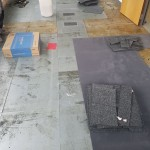 Grey Carpet Tiles During