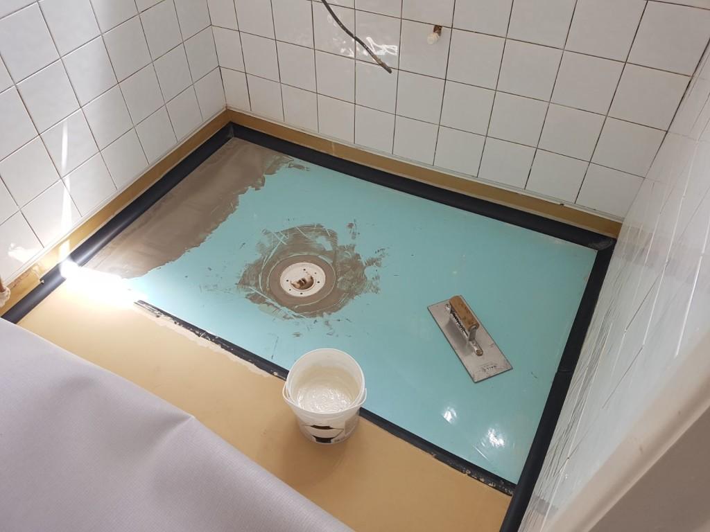 Wet Room Floor Installation Towcester Tayflor Ltd