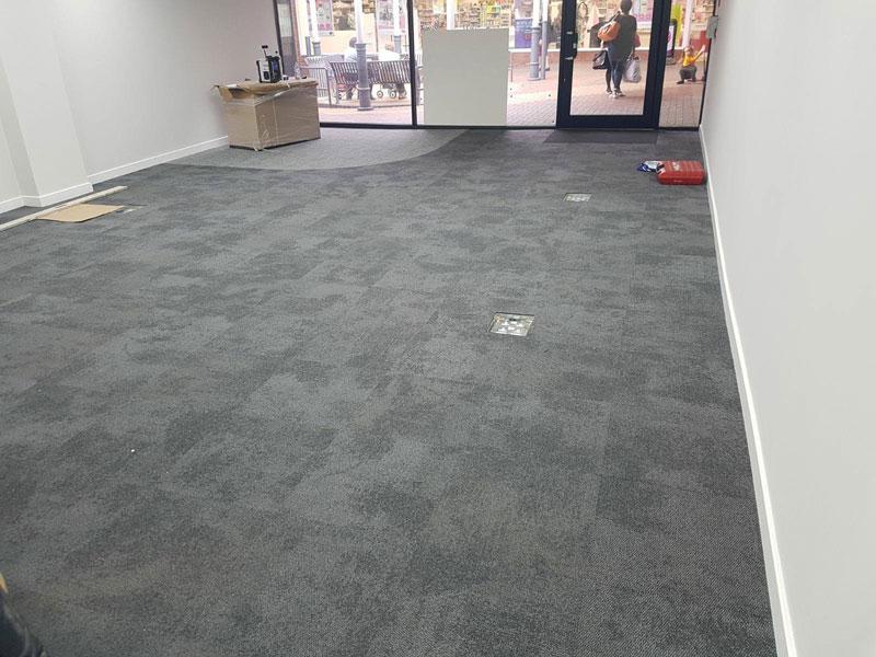 Latex Floor Amp Carpet Tile Installation In Leighton Buzzard