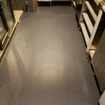 New Completed Vinyl Flooring